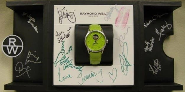 Read more about the article NEWS AUTOGRAPHED RAYMOND WEIL WATCH SOLD IN CHARITY AUCTION