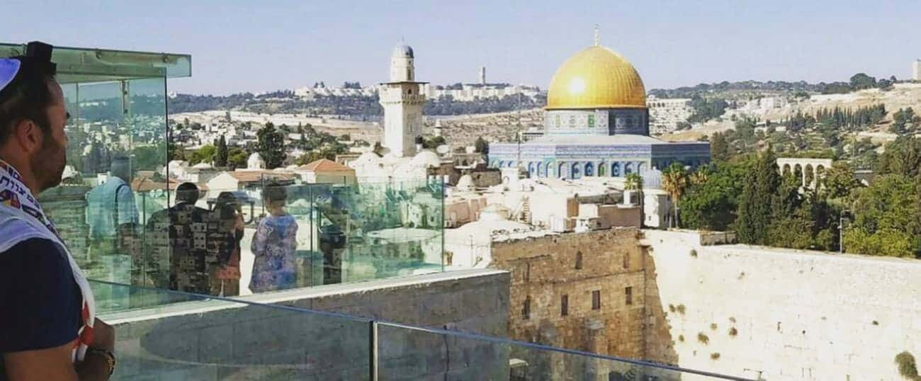 Read more about the article JEREMY PIVEN BECOMES A BAR MITZVAH IN JERUSALEM